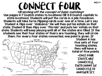 Dry Erase Map Ideas and Cards