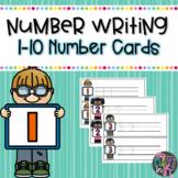Dry Erase Number Writing Practice 1-10