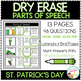 Dry Erase Parts of Speech Workbook: St. Patrick's Day