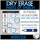 Dry Erase Parts of Speech Workbook: Winter