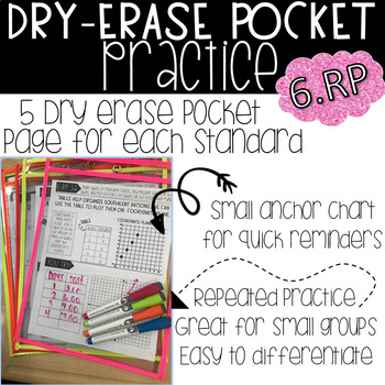 Dry Erase Pocket Practice 6.RP