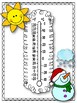 Dry Erase Thermometers. Students Classroom Practice Thermometers. Temperature