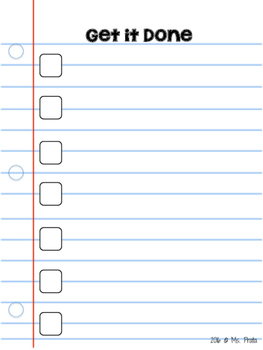 FREE Dry-Erase To Do List