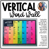 Vertical Dry Erase Word Wall