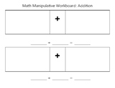 Counting Manipulatives Workboard (Add, Subtract, Greater/Less Than)
