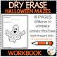 Dry Erase Workbook: Halloween Mazes
