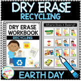 Dry Erase Workbook: Recycling Earth Day