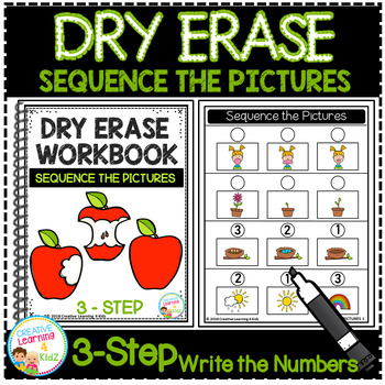 Dry Erase Workbook: Sequence the Pictures