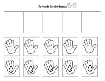 Dry Hands Reward Chart