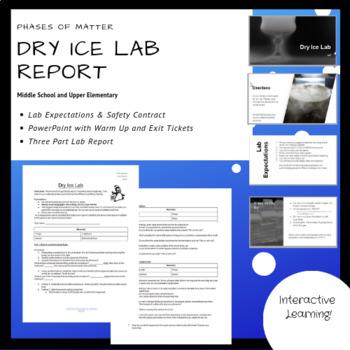 Dry Ice Science Teaching Resources Teachers Pay Teachers