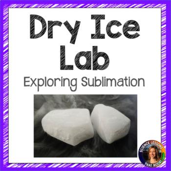 Dry Ice Teaching Resources Teachers Pay Teachers