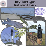 Dry Tortugas National Park Clipart Set
