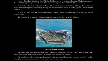 Dry Tortugas National Park PowerPoint for Kids