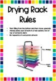 Drying Rack Rules