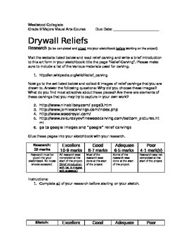 Drywall Reliefs