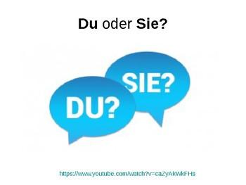 Du and Sie