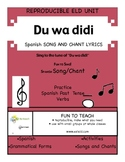 Du wa diddi diddi dum diddi de - Spanish verb/grammar/vocabulary