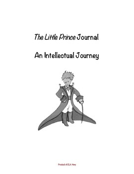 The Little Prince Dual Entry Reading Journal - includes example entry