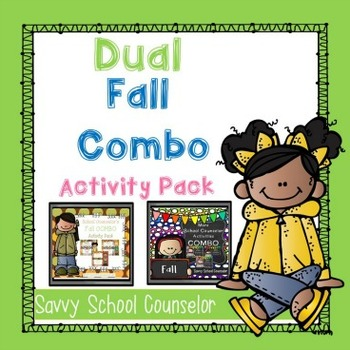 Dual Fall Combo Activity Pack