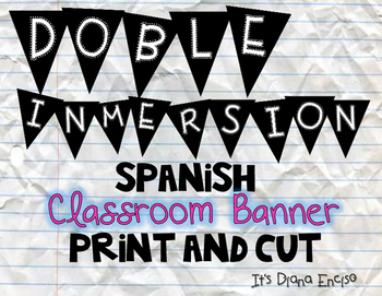 Dual Immersion Banner