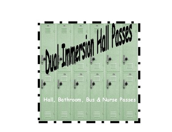 Dual Immersion Hall Passes