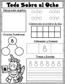 Dual Language All About Numbers 1-10
