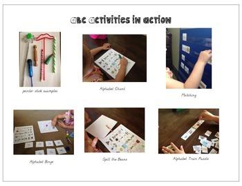 Dual Language Alphabet Activites