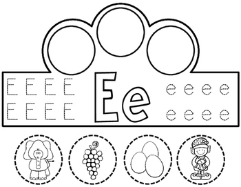 Dual Language Alphabet Crowns:  Beginning Sound Crowns in English and Spanish
