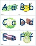 Dual Language Alphabet Puzzle
