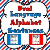 Dual Language Alphabet Sentences