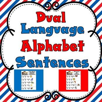 Dual Language Alphabet Sentences