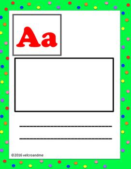 Dual Language Alphabet for Kids English and Spanish -bright