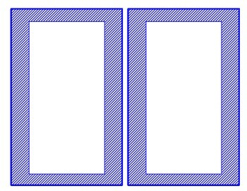 Dual Language Blank labels and frames