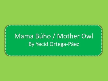 Dual Language Book- Spanish- Mother Owl