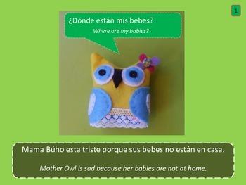 Dual Language Book- Spanish- Mother Owl