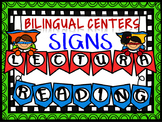 Dual Language Center Banners