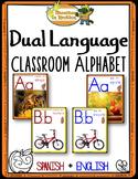 Dual Language - Classroom Alphabet Bilingual version (with