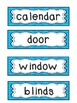 Dual Language Classroom Labels