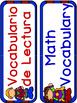 Dual Language Classroom Labels -Superheroes theme-