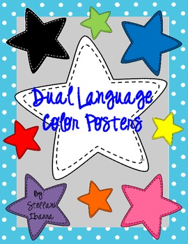 Dual Language Color Posters