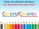 Dual Language Color PowerPoint