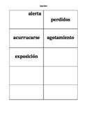 Dual Language - Context Clues Vocabulary Inquiry SPANISH