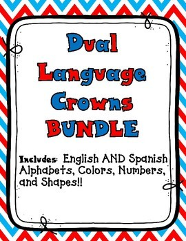 Dual Language Crowns Mega Bundle