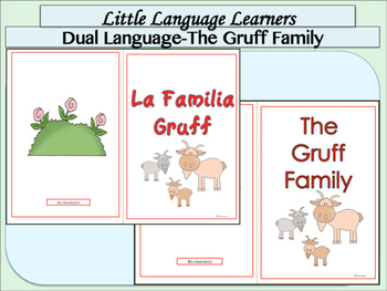 "Spanish Dual Language Bilingual:Comprehension and Vocabulary-""Billy Goats Gruff"""