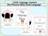 "Spanish Dual Language Bilingual Comprehension+Vocabulary-""The Princess Blues"""