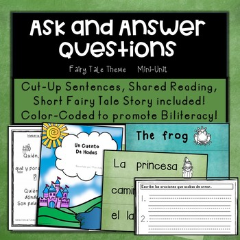 Dual Language: Developing Oracy to Ask and Answer Questions