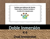 Dual Language Dual Immersion Doble Inmersión All Grades Co
