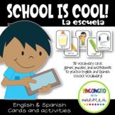 Dual Language Fun at School (English - Spanish)
