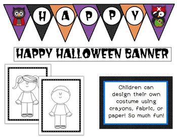 Dual Language Halloween Fun Pack