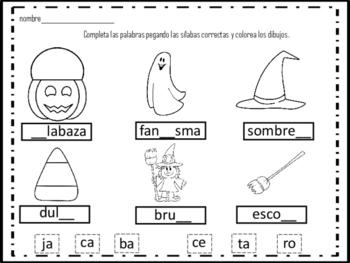 Dual Language: Halloween Activities